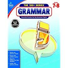 100+ Grammar Workbook Gr. 7- 8 (BC7, BC8)
